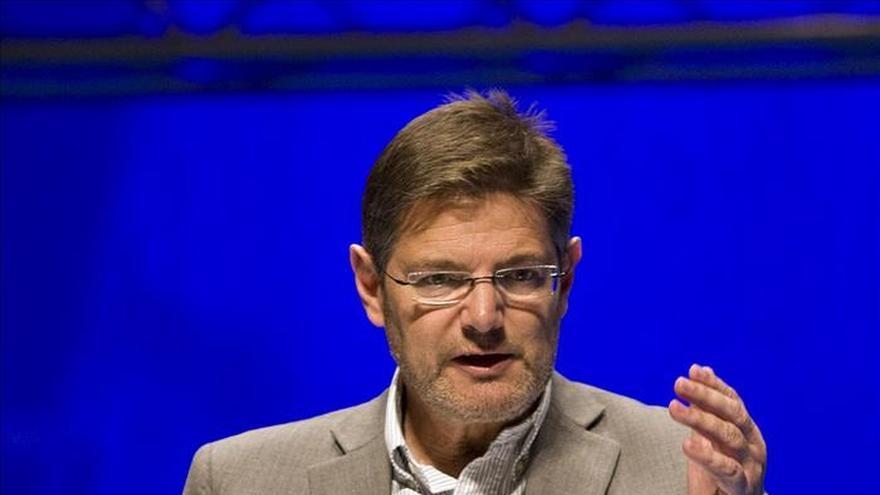 El ministro de Justicia, Rafael Catalá, no prevé reformar la ley del indulto.