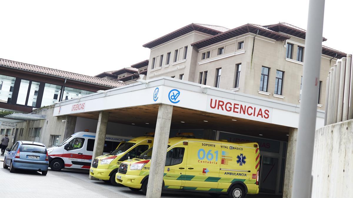 Aparcamiento de Urgencias del Hospital Universitario Marqués de Valdecilla