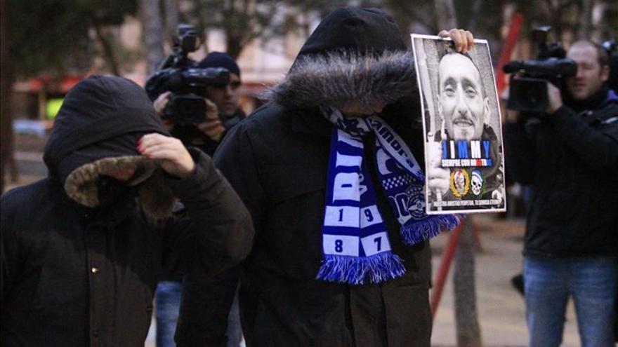 Detenidas más de 30 personas por la muerte del ultra del Deportivo