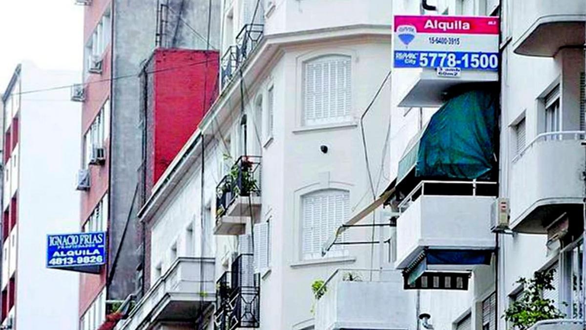 En comparación con agosto de 2020, los alquileres subieron en la Ciudad de Buenos Aires en torno al 60%