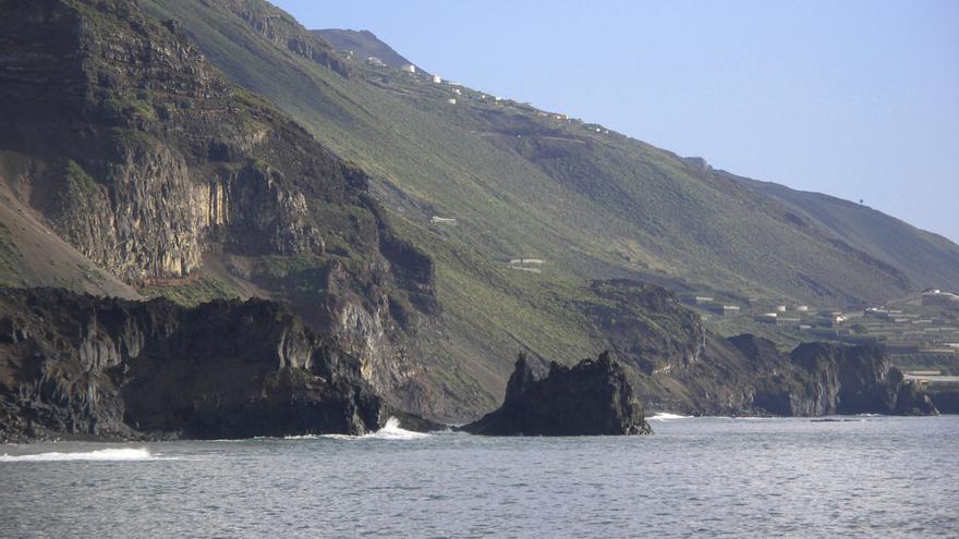 Las Reserva Marina de La Palma se ubica, en el litoral del suroeste, entre la playa del Charco Verde (Los Llanos de Aridane) y Las Celdas (Fuencaliente). Foto: Tamia Brito/Reservas Marinas/SGP.