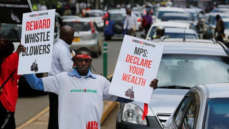 La oposición keniana se manifiesta contra la Comisión Electoral por fraude