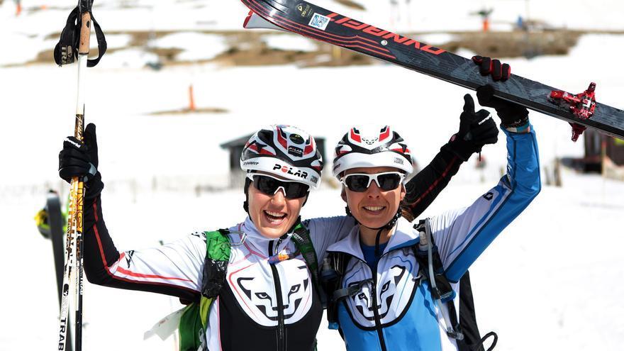 Claudia Galicia y Anna Comet, las ganadoras en categoría femenina de la primera edición (© Gael Piguillem).