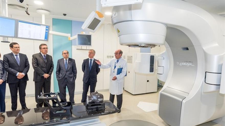 El nuevo acelerador de última generación de Cruces para tratamiento oncológico tratará 500 pacientes al año