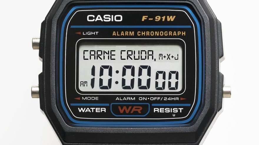 Casio Carne Cruda 10AM