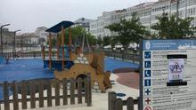 Los parques infantiles están abiertos ya en Galicia, pero con limitaciones de aforo.