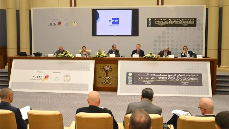 Agencia andorrana de noticias participa en el Congreso Mundial de Riad
