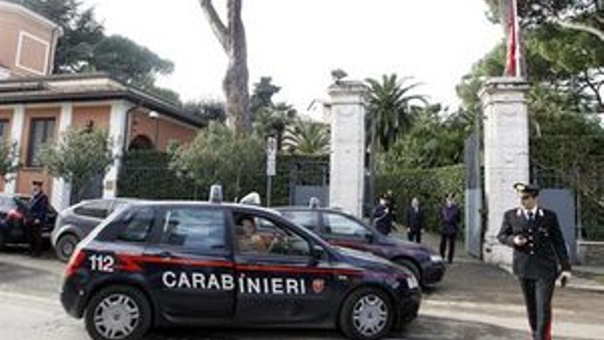 Las embajadas en Roma están siendo el objetivo de ataques con paquetes bomba en las últimas horas.
