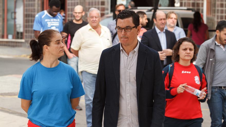 El cabeza de lista de Coalición Canaria al Congreso de los Diputados por la provincia de Las Palmas, Pablo Rodríguez
