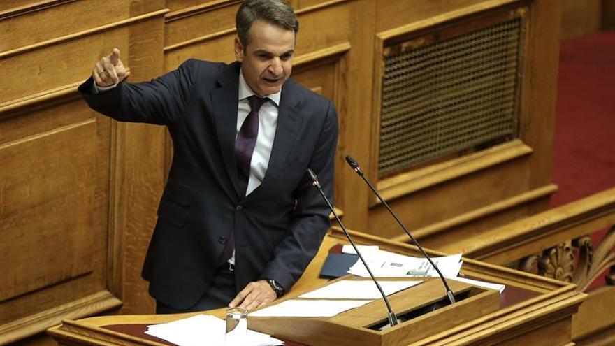 El líder de la oposición griega inicia el curso con promesas de reducciones de impuestos