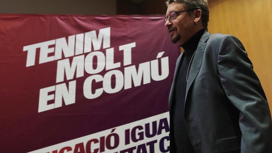 Domènech: PP solo habla de artículos de la Constitución que restan soberanía
