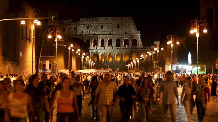 Roma no se ve bien bajo su nueva luz