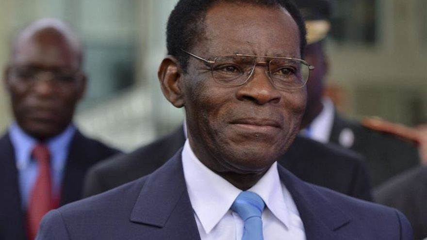 Obiang recibe en Malabo a una delegación de la Comisión Europea