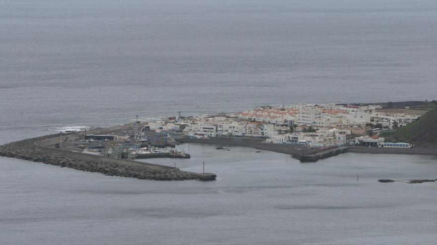 Puerto de Las Nieves en Agaete.