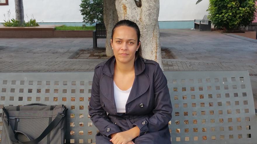 Melania Martín Acosta es animadora insular de Cáritas Diocesana de Tenerife. Foto: LUZ RODRÍGUEZ.