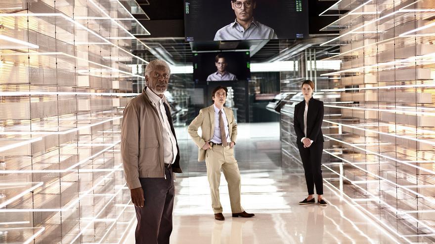 El futurista 'data center' de 'Transcendence'