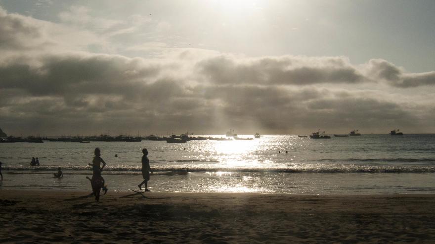 Ecuador cuenta con 640 kilómetros de costa con extensos arenales. David Ceballos