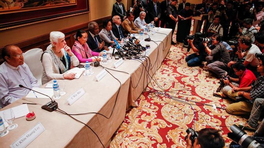 Kofi Annan pide amparo para las víctimas de la violencia sectaria en Rakáin