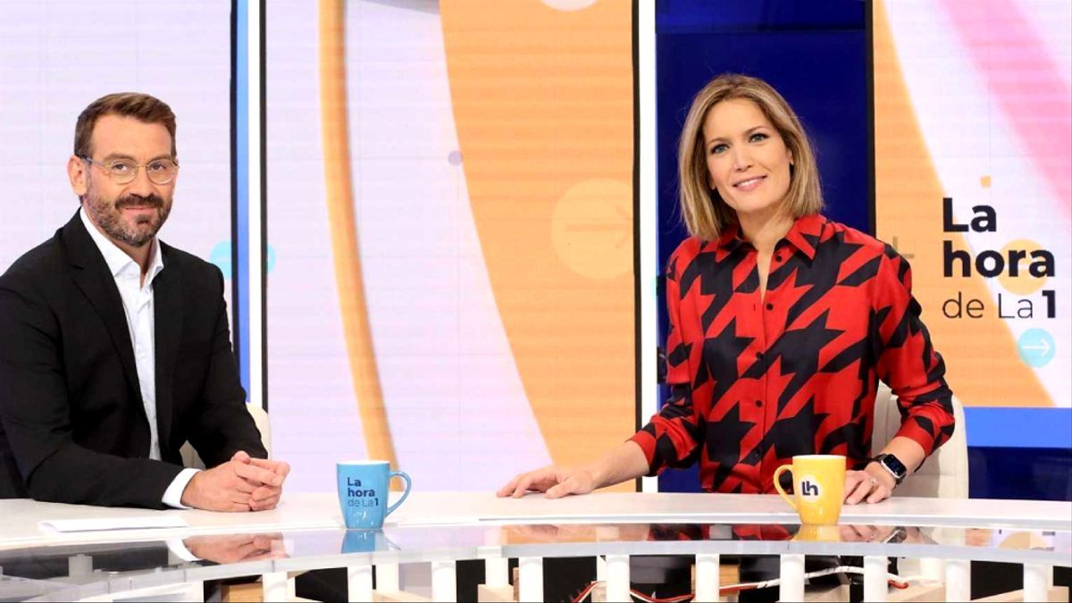 Marc Sala y Silvia Intxaurrondo en 'La hora de La 1'