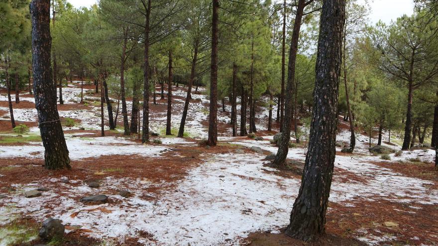 Nieve en el Garañón