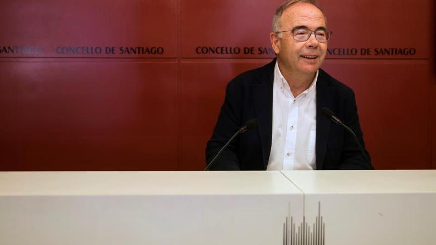 El alcalde de Santiago de Compostela, Xosé Sánchez Bugallo.