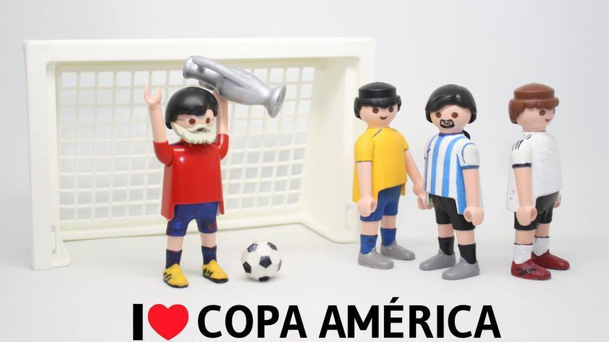 I love Copa América