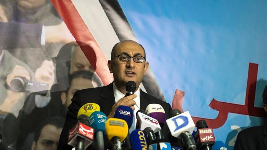 Un destacado opositor egipcio anuncia su candidatura a las elecciones de 2018