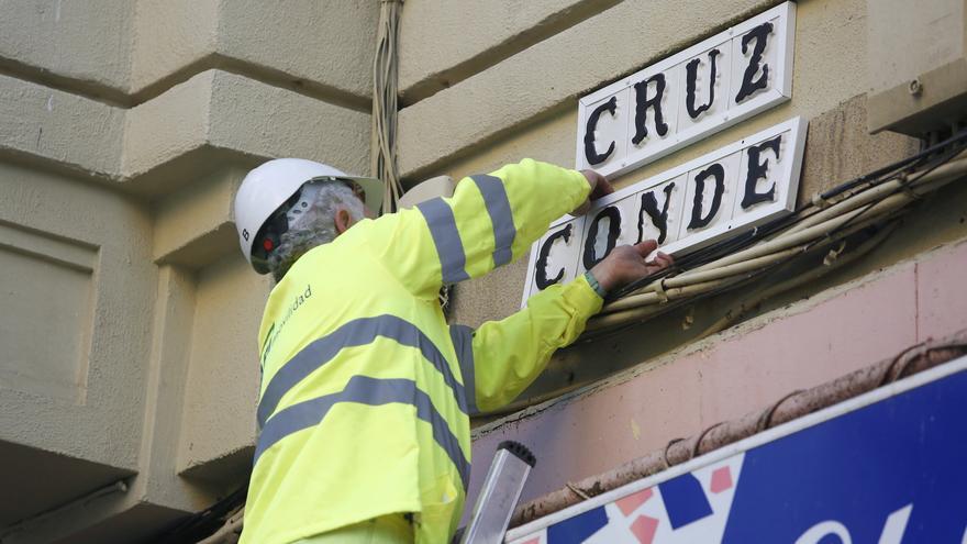 Cambio de calles de vuelta a los nombres franquistas en Córdoba