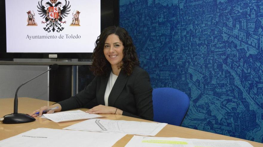 La portavoz del Gobierno local, Noelia de la Cruz / Ayuntamiento de Toledo