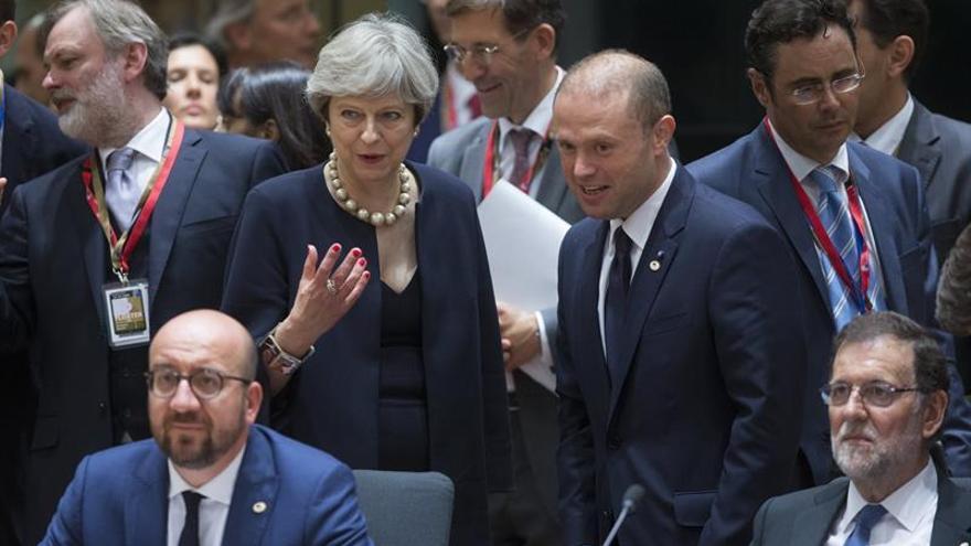 """Comienza la Cumbre europea centrada en el """"brexit"""" y el yihadismo"""