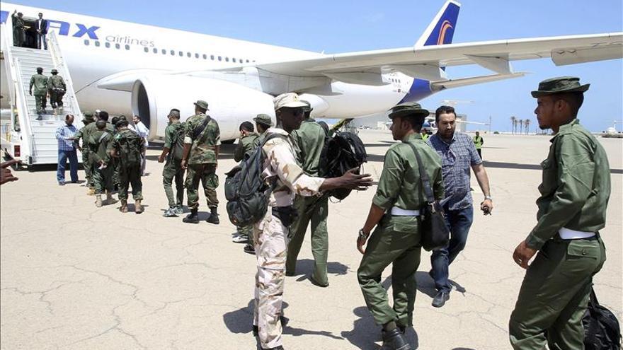 Más de 300 soldados libios salen del Reino Unido ante denuncias de agresión sexual