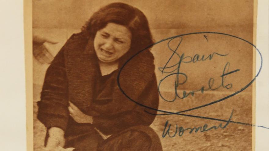 Una famosa fotografía de Centelles, del bombardeo de Lérida en 1937 por los Nacionales.