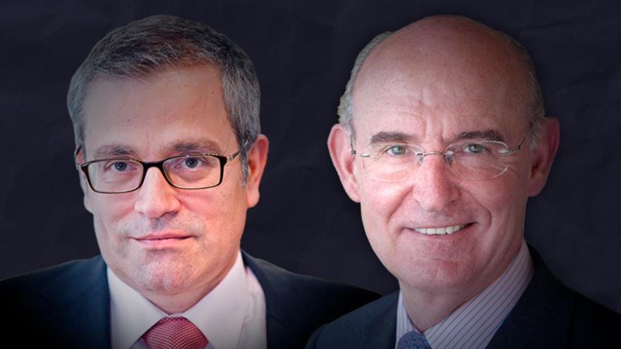 Los economistas Alain Cuenca y Pedro Luis Uriarte