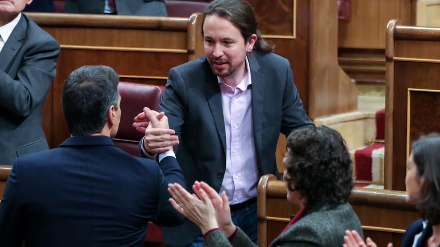 """Sánchez arenga a la coalición para que demuestre ser una izquierda que """"pudo y supo gobernar"""" España"""