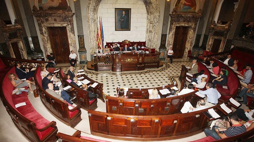 El ayuntamiento también dará prioridad al uso del valenciano en el pleno municipal