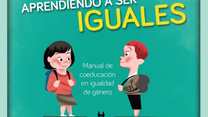 Portada de la guía para promover la igualdad en las aulas del Gobierno de Aragón