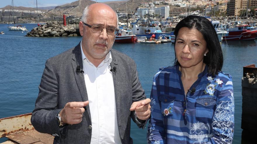 Antonio Morales e Isabel Santiago en Mogán