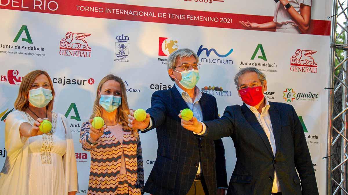 Presentación del Open Generali Ciudad de Palma del Río