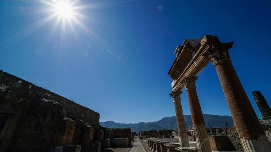 Descubierta en Pompeya una perfumería bien conservada de la época romana