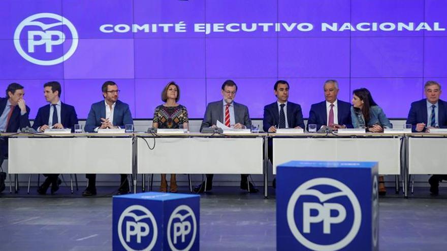 El PP arropa a Rajoy en el aniversario de su investidura y tras aplicar el 155