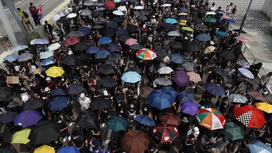 Activistas hongkoneses detenidos horas antes de nueva oleada de protestas