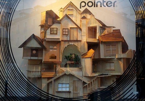 Casas de madera, obra de Dourone