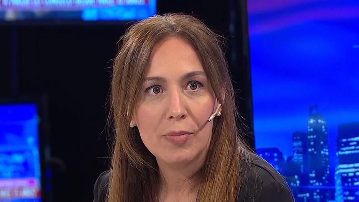 La exgobernadora bonaerense María Eugenia Vidal
