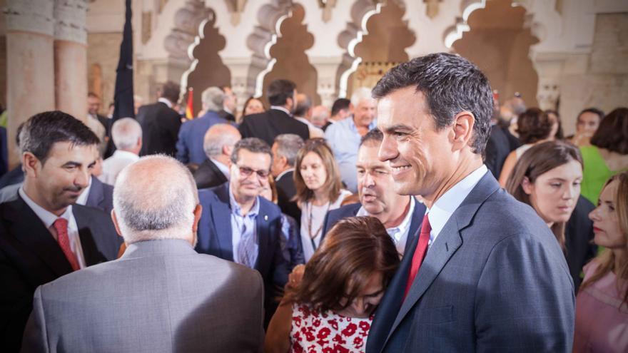 Pedro Sánchez. Foto:Juan Manzanara