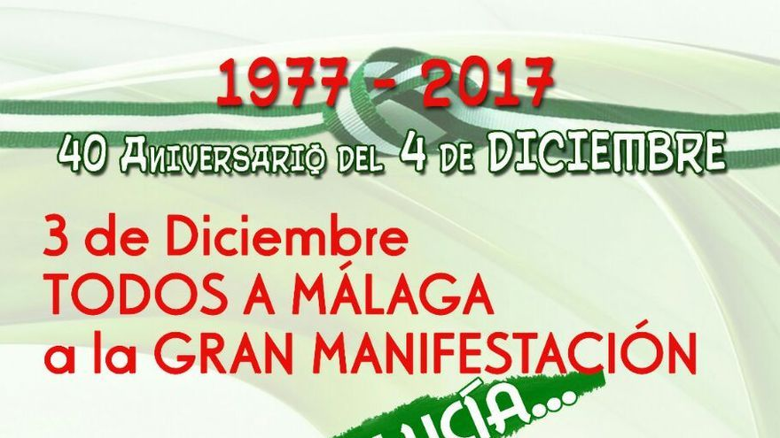 Convocatoria del SAT para la celebración del 4D en Málaga.
