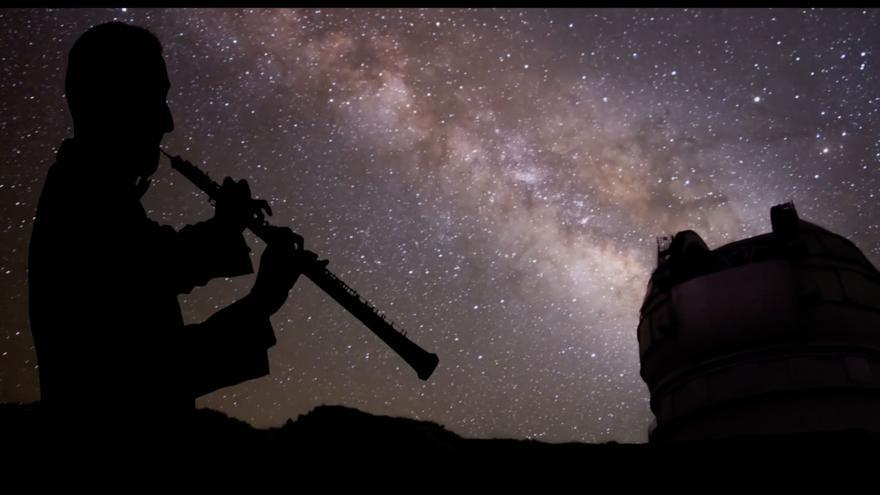 El Cabildo de La Palma presenta el tráiler de la grabación de la Sinfónica de Tenerife en el Gran Telescopio Canarias