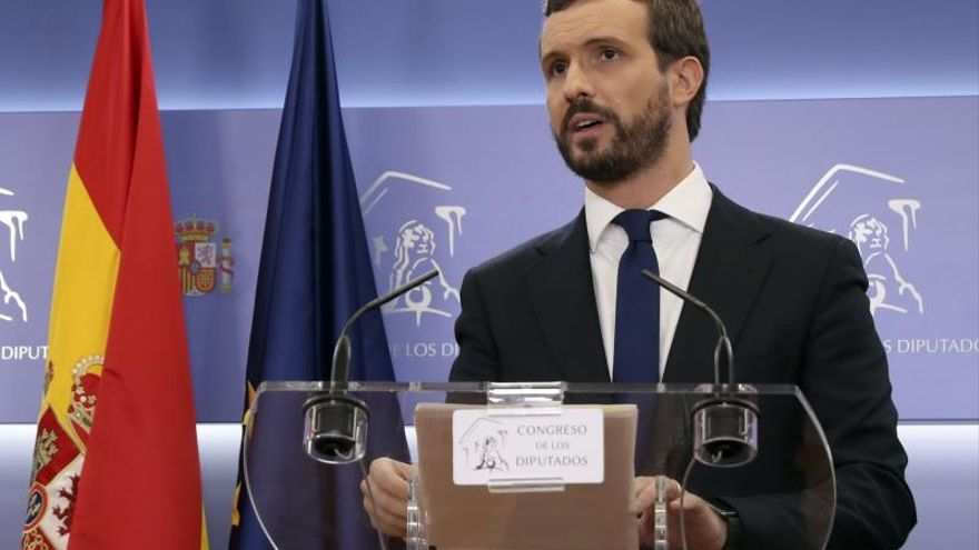 Casado aboga por recuperar las competencias penitenciarias de la Generalitat