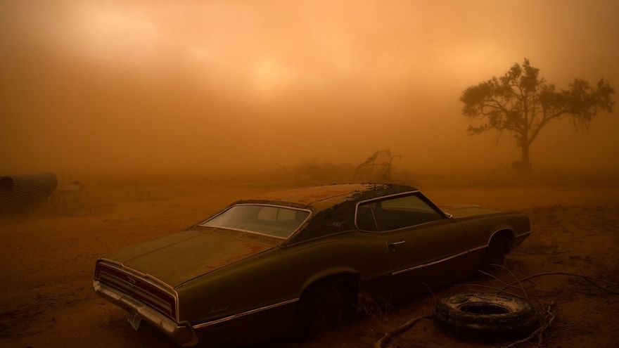 'Thunderbird in the dust', segundo puesto de la categoría 'Lugares'