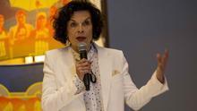 La activista y defensora de los derechos humanos Bianca Jagger.