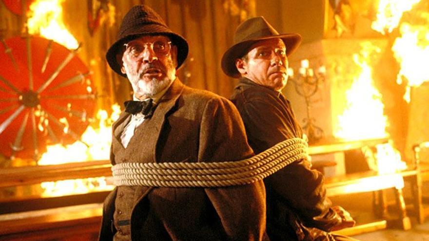 'Indiana Jones' sigue líder en Antena3 y 'El Dictador' da un buen golpe en Cuatro